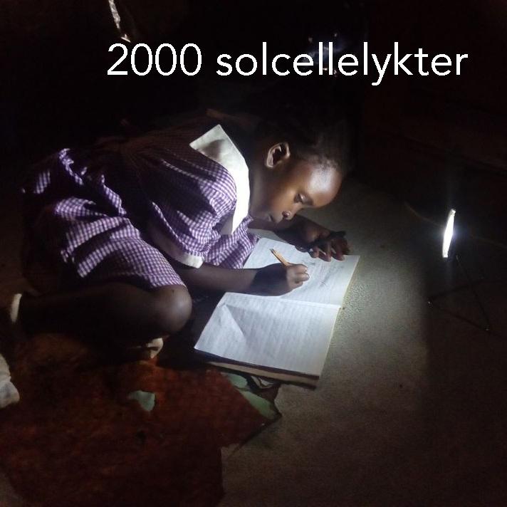 2000 solcellelykter